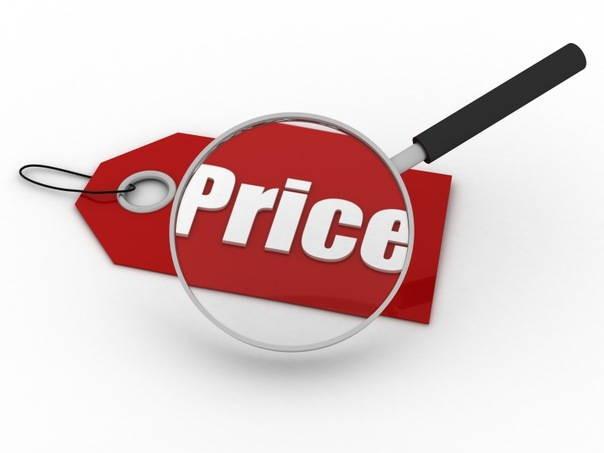 Изменение стоимости проушин