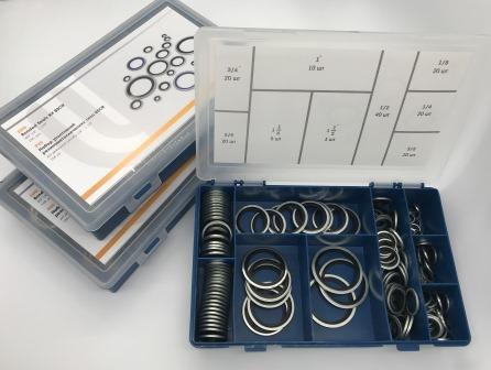 Набор колец резинометаллических BSCR-G